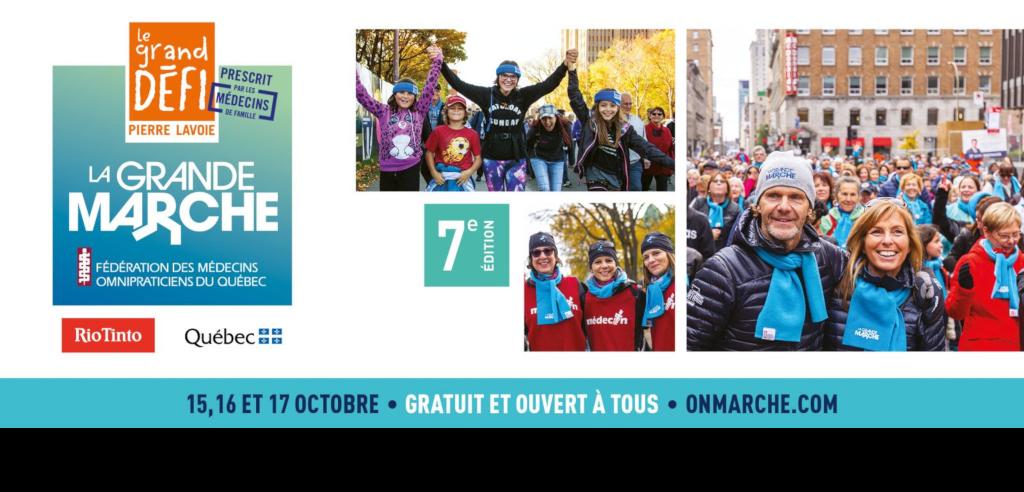 La Grande marche – Un événement à mettre au calendrier!