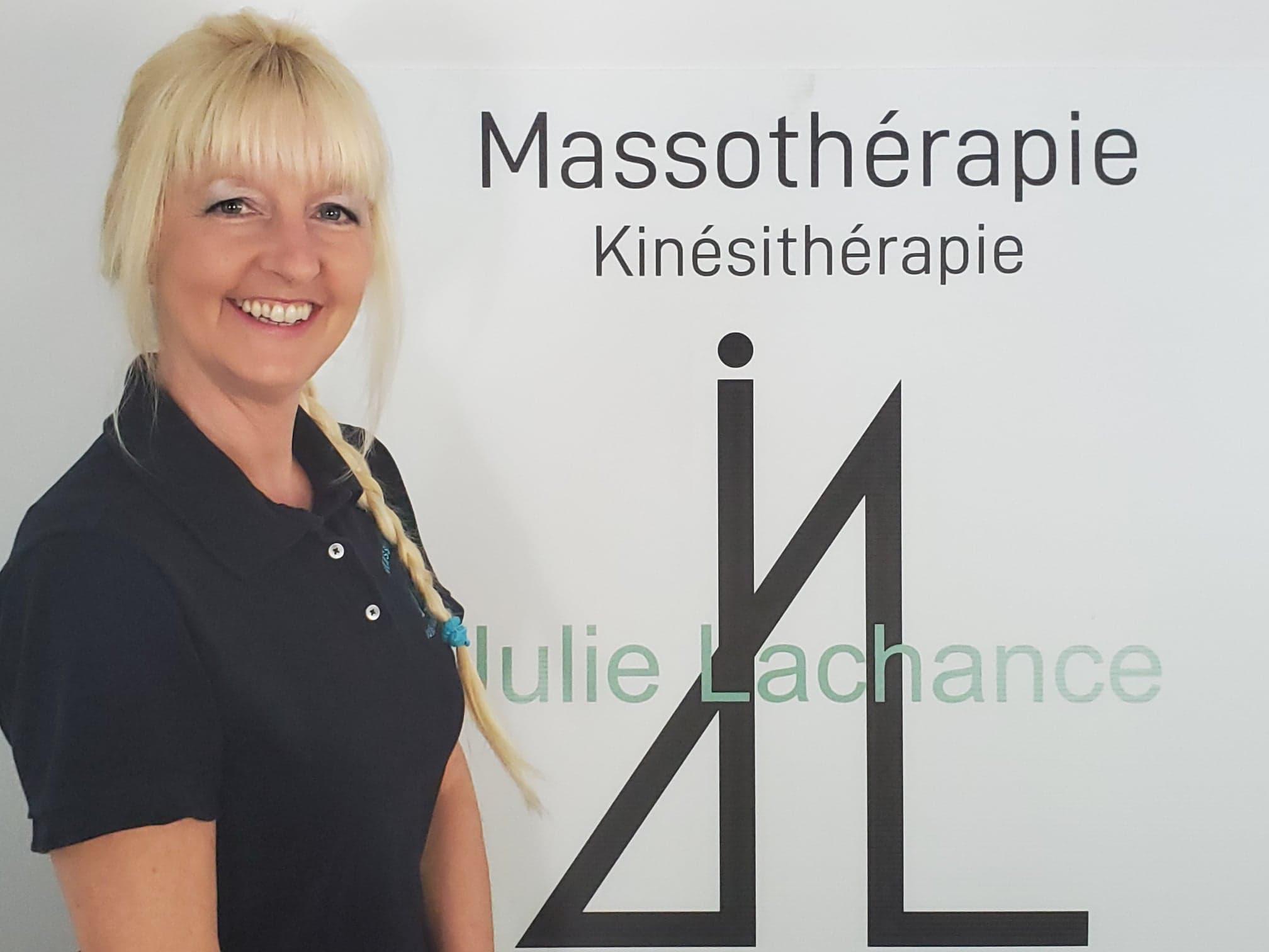 Julie Lachance - Massothérapie