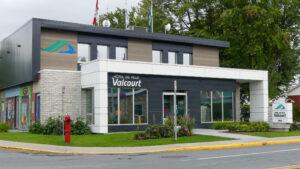 L'hôtel de ville de Valcourt