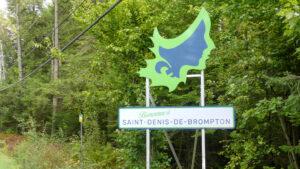 panneau Saint-Denis-de-Brompton