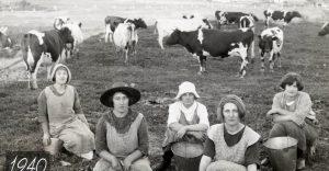 Les agricultrices d'hier à aujourd'hui