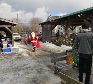 Père Noël Marché Locavore
