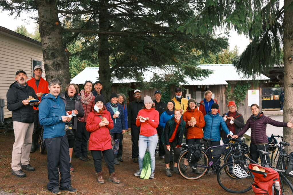 tournée vélo agro carottes garnottes oct 2021